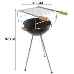 Churrasqueira Americana Brasa Grill Carvão
