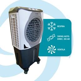 Climatizador de ar evaporativo portátil 210 watts 100 Litros Ultraar 220V