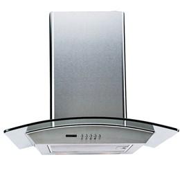 Coifa Vidro de Parede 60Cm Depurador e Exaustor CPV60-01 127v 340w- Agratto