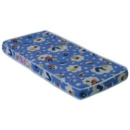 Colchão Infantil de Espuma 10X130X60cm - Multimóveis Colorido