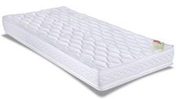 Colchão Orthocrin Espuma D33 Royal Saúde Plus Pillow Top Solteiro 88x188x24cm