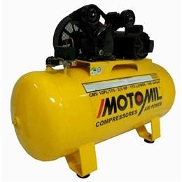Compressor de Ar 1 Estágio 10PL/100 Trifásico 220/380V Motomil