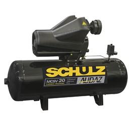 Compressor de ar 20 pés 150 litros 5 CV trifásico 220/380V - Audaz Schulz