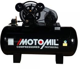 Compressor de Ar 20 Pés 200 Litros 175 Lbs CMAV20/200 Trifásica 220/380 - Motomil