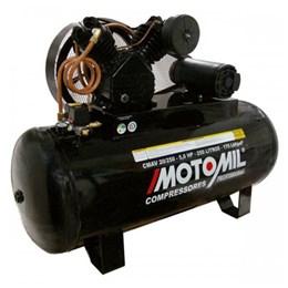 Compressor de Ar 20 Pés 250 Litros 175 Lbs CMAV 20/250 Trifásico 220/380V - Motomil