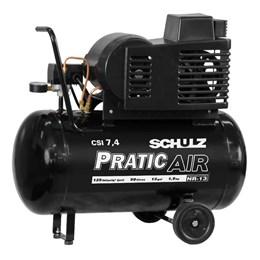 Compressor de ar 7,4 pés 50 litros 1,5 hp Bivolt - Schulz