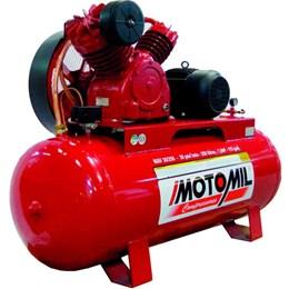 Compressor De Ar 7.5Hp 250Lts 30 pés Trifásico MAV30/250 Motomil