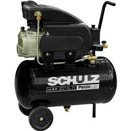 Compressor De Ar 8,5 Pés 25 Litros Pratic Air 110v Schulz