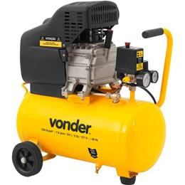 Compressor de ar baixa pressão 7,6 pés 24 litros  MCV076 - Vonder