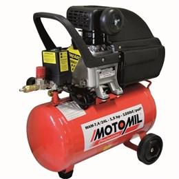 Compressor de ar CMI 7,4 24 Litros -  MOTOMIL
