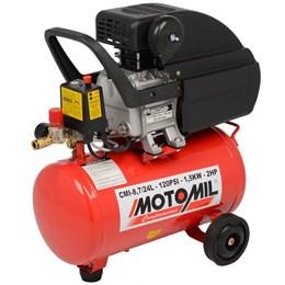 Compressor De Ar Cmi 8,7 24 Litros 2hp Bivolt - Motomil