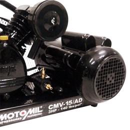 Compressor De Ar Direto 15 Pés³/Min. Cmv-15/Ad Monofásico 110/220V - Motomil