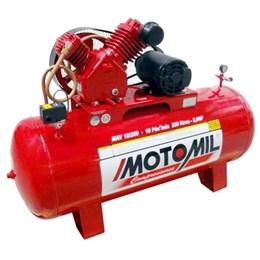 Compressor de Ar Industrial MAV 10/200 Monofásico Bivolt - Motomil