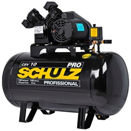 Compressor de Ar Schulz CSV 10 pés 100 Litros PRO - 220 Volts