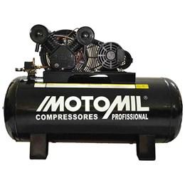 Compressor Profissional Trifásico 250L 30 Pés 7,5HP 220/380V - Motomil