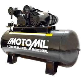 Compressor Profissional Trifásico 350L 40 Pés 10HP 220/380V - Motomil