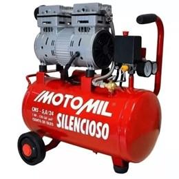 Compressor Silencioso Cms-5,0/24l 5pcm 120psi Motomil - 220v