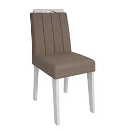 Conjunto 2 Cadeiras Elisa Branco/Pluma  Cimol