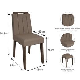 Conjunto 2 Cadeiras Elisa Cimol