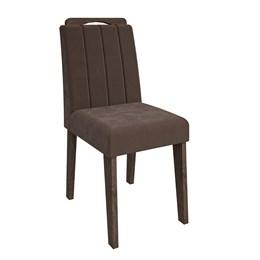 Conjunto 2 Cadeiras Elisa Marrocos/ Chocolate Cimol