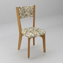 Conjunto 2 Cadeiras Estofada Freijo 100% MDF CA22 - Dalla Costa