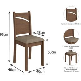 Conjunto 2 Cadeiras Melissa Cimol