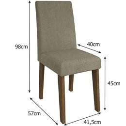 Conjunto 2 Cadeiras Milena  - Cimol