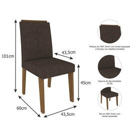 Conjunto 2 Cadeiras Nicole Cimol