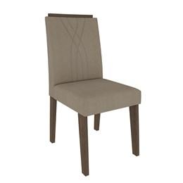 Conjunto 2 Cadeiras Nicole Marrocos /Caramelo Cimol