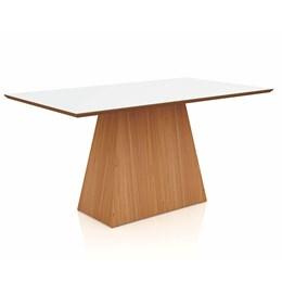 Conjunto de Mesa para sala de jantar TM61JW 160x90cm 6 cadeiras  - Dalla Costa
