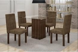 Conjunto Mesa de Jantar Havana C/ 4 Cadeiras - Cel Móveis