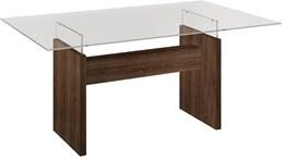 Conjunto Mesa Evidence 120x80  cm c/ 4 Cadeiras Classic   - Cel Móveis