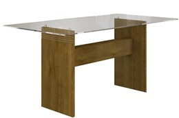 Conjunto Mesa Ravena 160x80 cm c/ 6 Cadeiras Ravena   - Cel Móveis