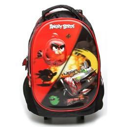 Conjunto Mochila e Lancheira Angry Birds Pigs Will Fly - Santino