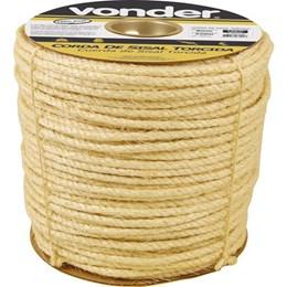 Corda de sisal 16 mm com rolo de 220 metros - Vonder