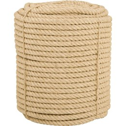Corda de sisal 20 mm com rolo de 220 metros - Vonder