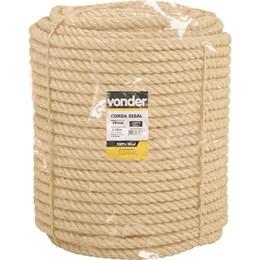 Corda de sisal 25 mm com rolo de 110 metros - Vonder