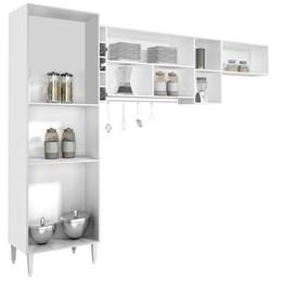 Cozinha Compacta Ebano 3 Peças  - CHF Móveis