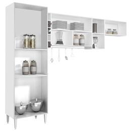 Cozinha Compacta Ebano 3 Peças  - CHF - Móveis