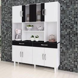 Cozinha Compacta Kit 8 Portas Estilo - Kaiki Móveis
