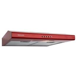 Depurador de Ar Slim 60 cm Vermelho 220V Suggar