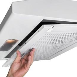 Depurador de Ar Slim 60cm Branco Bivolt - Suggar