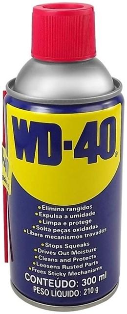 Desengripante Anti-ferrugem WD-40 300 ML WD-40