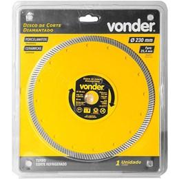 Disco de corte diamantado 230mm turbo VONDER