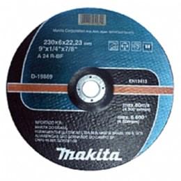 """Disco de Desbaste 9"""" para Metal com 5 Unidades - Makita"""