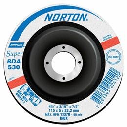 Disco desbaste 114,3X5,0X22,22 BDA530 NORTON