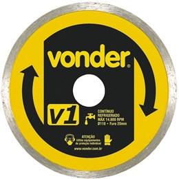 DISCO DIAMANTADO VONDER V1 PARA SERRA MARMORE