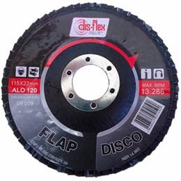 DISCO LIXA FLAP D 4.1/2X120GR. DISFLEX