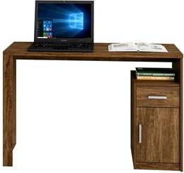 Escrivaninha 1 Porta e 1 Gaveta Luminus Para Escritório Canion TX - Mavaular