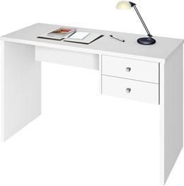 Escrivaninha Intelectual 2 gavetas Branco/artico - Zanzini